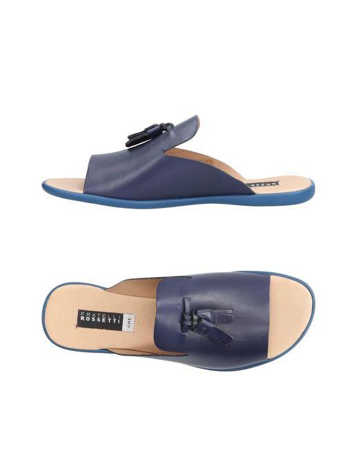Fratelli Rossetti - Blue Sandals - Lyst