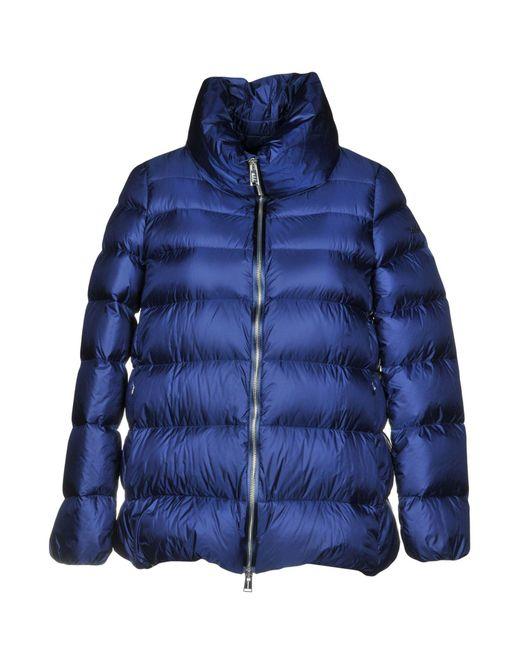 Add - Blue Down Jackets - Lyst