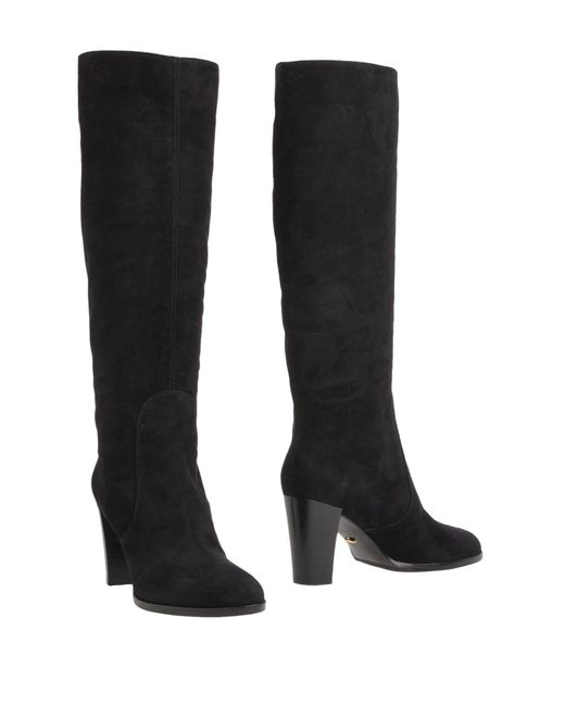 Sergio Rossi - Black Boots - Lyst