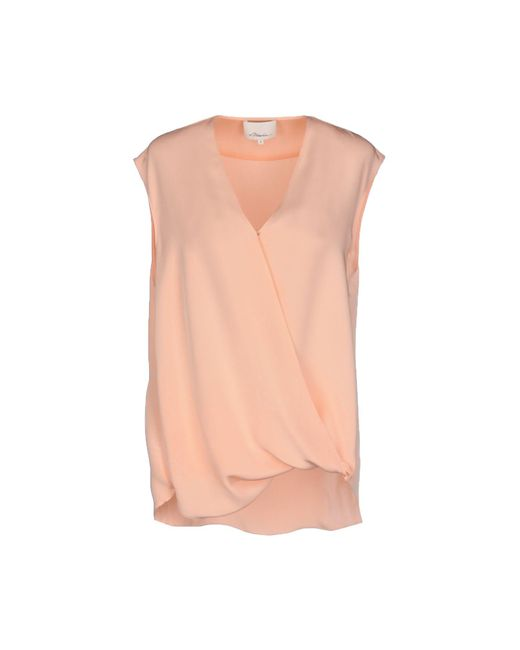 3.1 Phillip Lim - Pink Top - Lyst