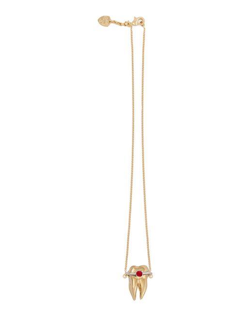 Schield   Metallic Necklaces   Lyst