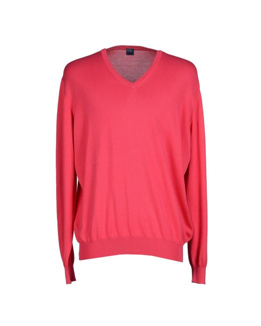 Fedeli - Pink Sweaters for Men - Lyst