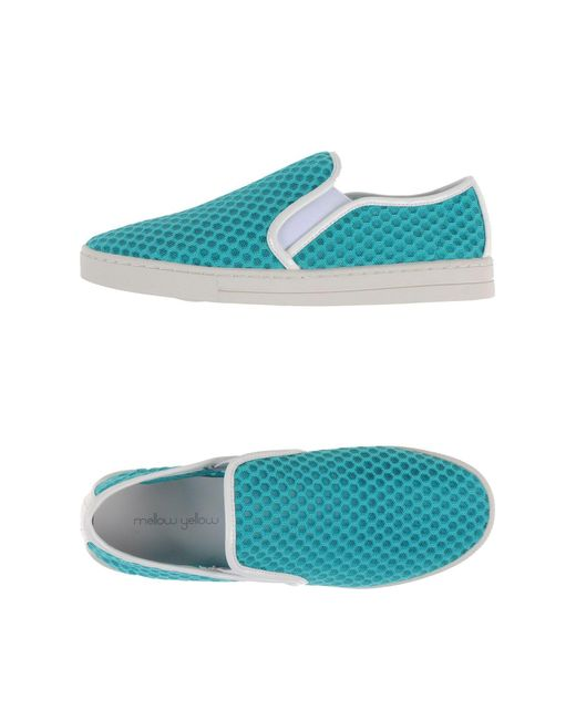 Mellow Yellow - Blue Low-tops & Sneakers - Lyst