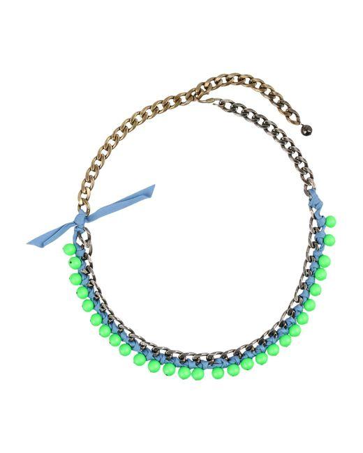 Lanvin - Green Necklaces - Lyst