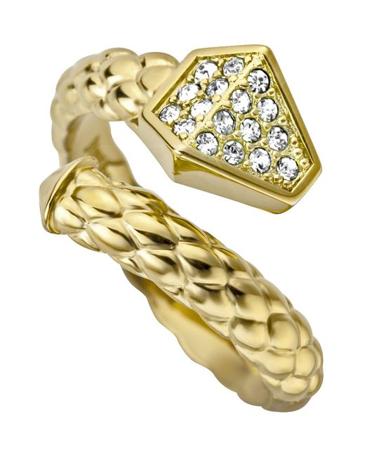 Just Cavalli - Metallic Rings - Lyst