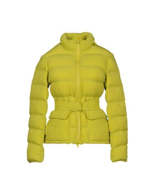 Aspesi - Green Down Jacket - Lyst