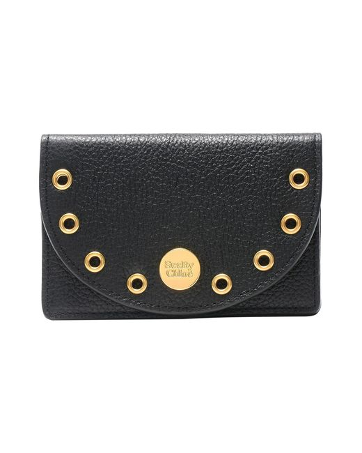 See By Chloé - Black Coin Purse - Lyst
