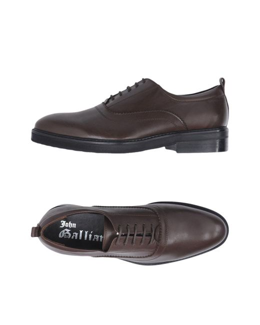 John Galliano - Brown Lace-up Shoe for Men - Lyst