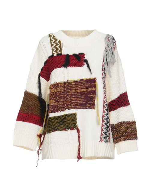 I'm Isola Marras - White Sweater - Lyst