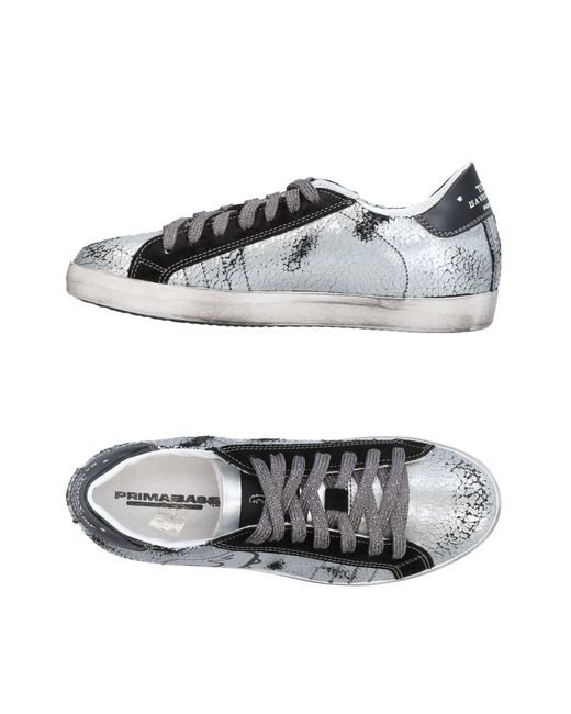 Primabase - Gray Low-tops & Sneakers - Lyst