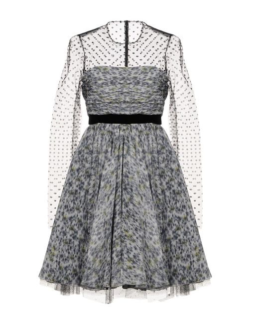 Philosophy Di Lorenzo Serafini - Gray Short Dresses - Lyst