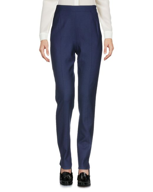 Cacharel - Blue Casual Trouser - Lyst