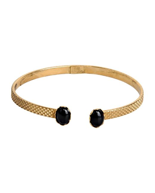 Ela Stone - Black Bracelet - Lyst