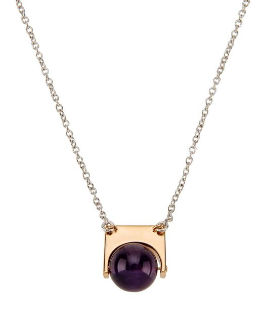Uribe | Purple Necklace | Lyst