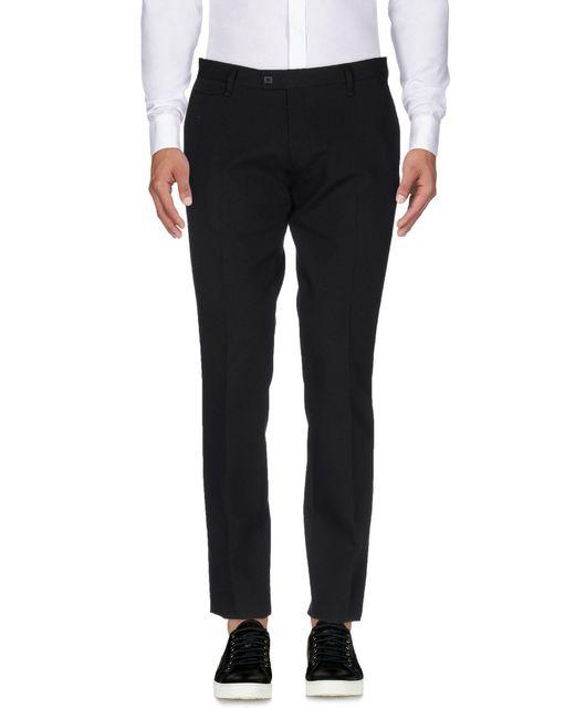 Massimo Rebecchi - Black Casual Trouser for Men - Lyst