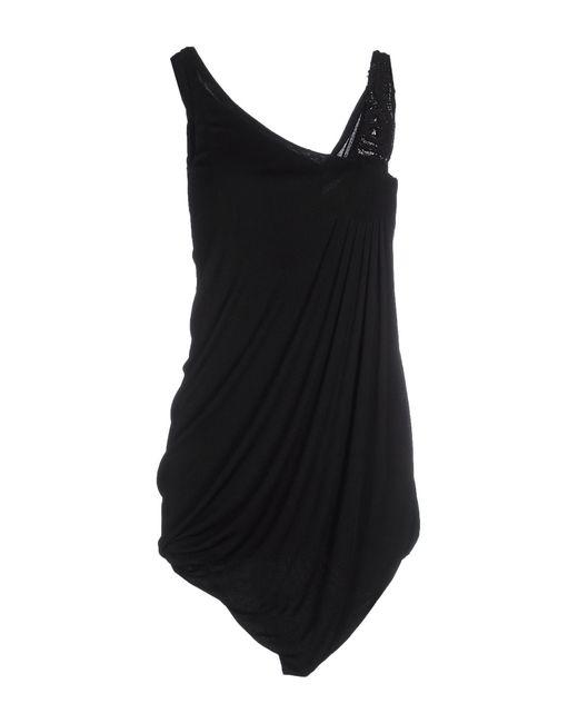 Antonio Marras - Black Short Dress - Lyst