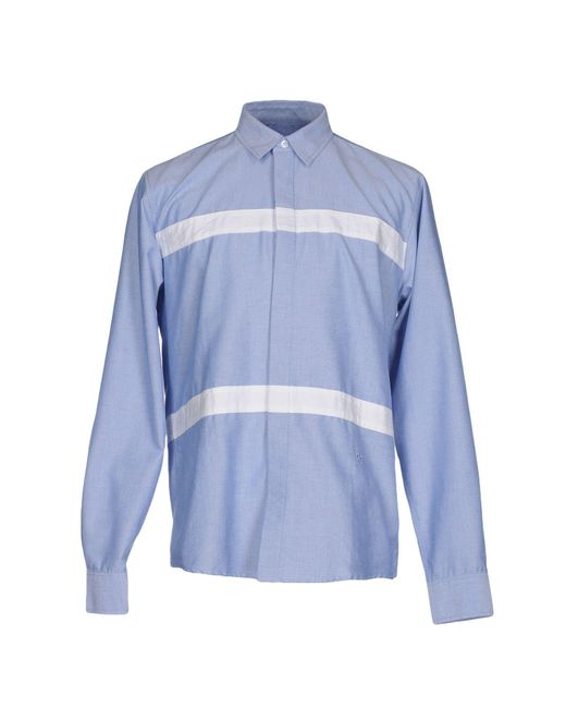 Soulland - Blue Shirt for Men - Lyst