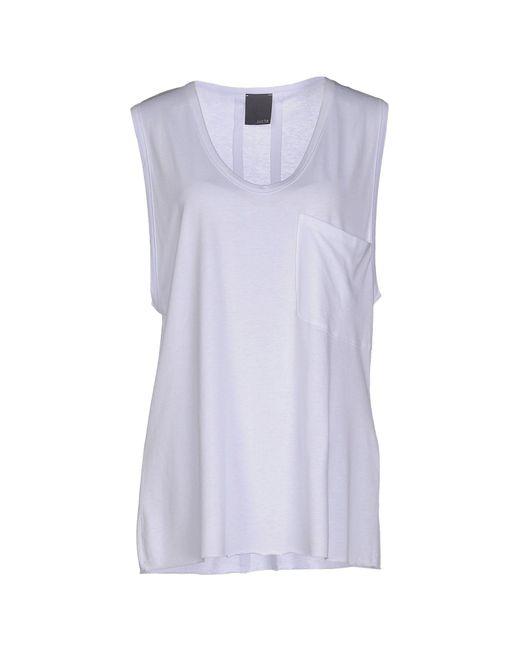 Lot78 - White T-shirt - Lyst