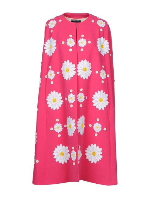 Dolce & Gabbana - Pink Capes & Ponchos - Lyst