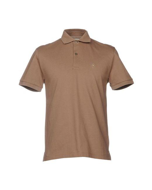 Ballantyne - Natural Polo Shirt for Men - Lyst