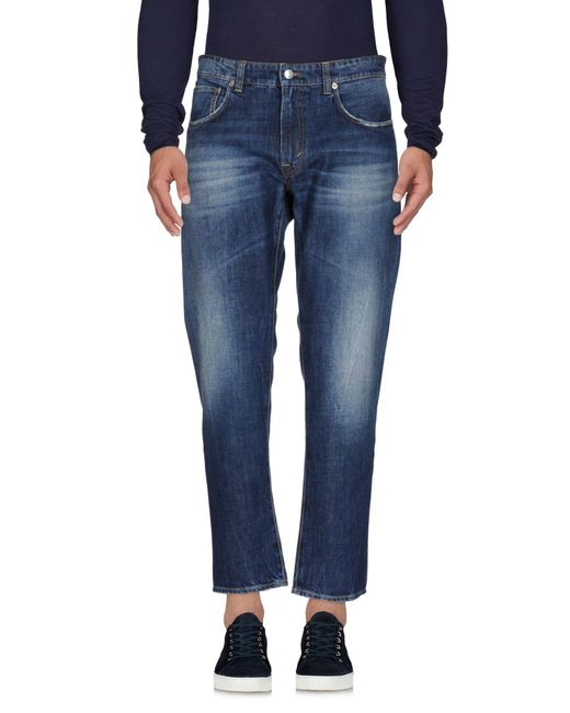 Department 5 - Blue Denim Trousers for Men - Lyst
