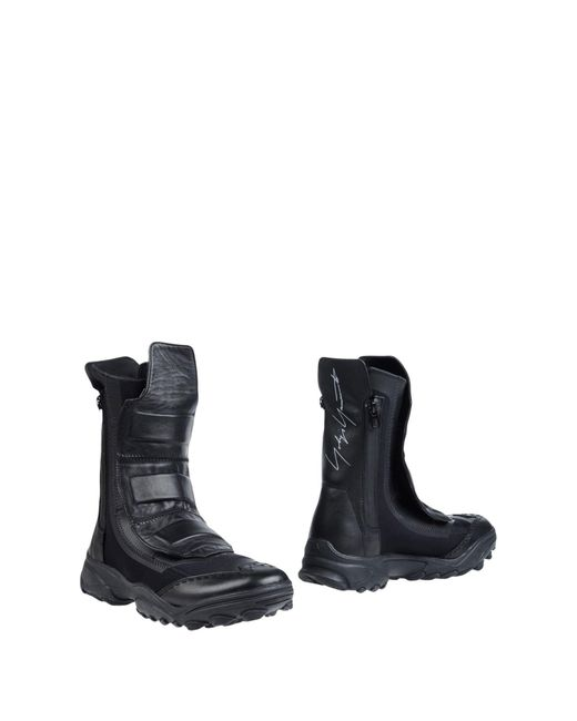 Y-3 | Black Boots for Men | Lyst