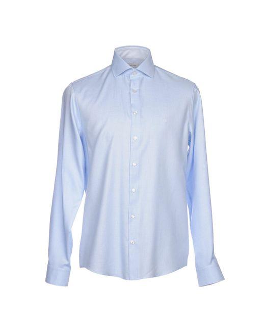 CALVIN KLEIN 205W39NYC - Blue Shirts for Men - Lyst