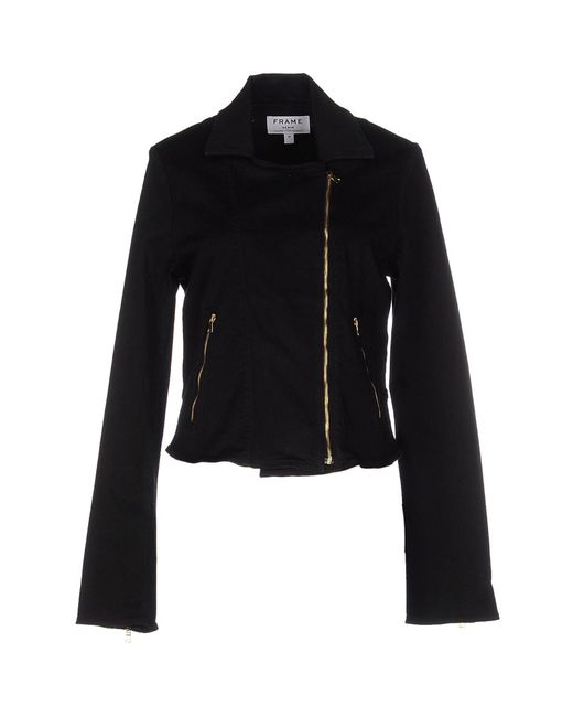 FRAME | Black Jacket | Lyst