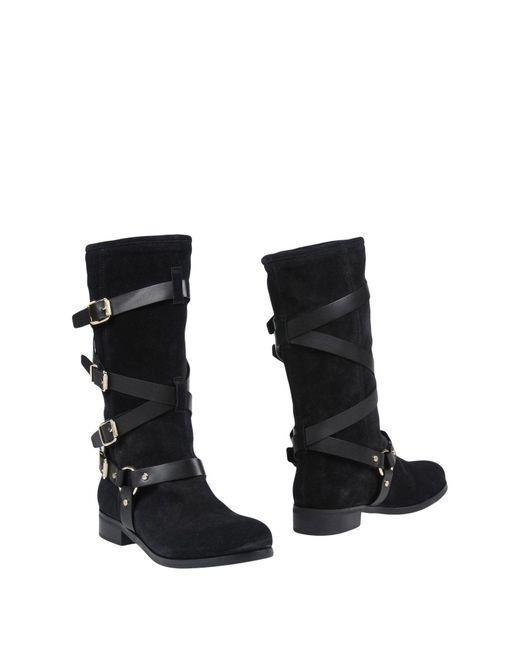 Elisabetta Franchi - Black Boots - Lyst