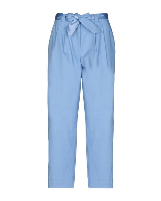 Soallure - Blue Casual Pants - Lyst