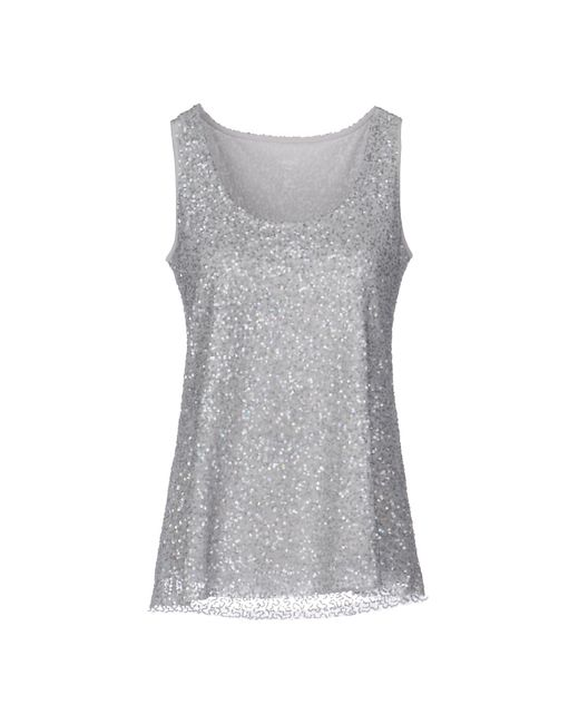 Marc Cain - Gray Top - Lyst