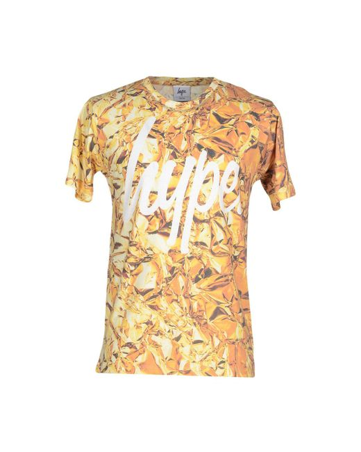 Hype | Yellow T-shirt for Men | Lyst