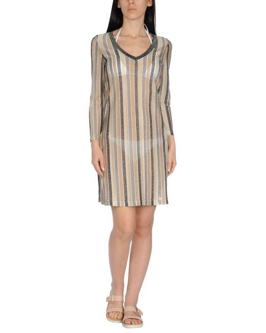 Twin Set | Natural Beach Dress | Lyst