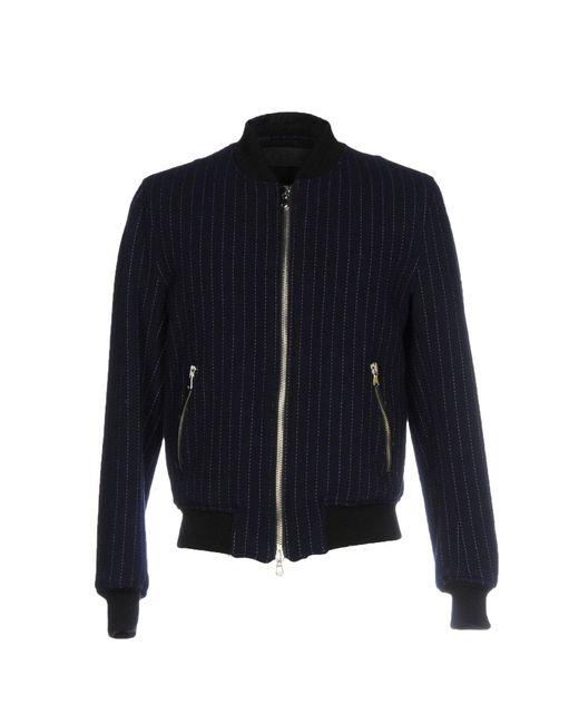 Route Des Garden - Blue Jacket for Men - Lyst