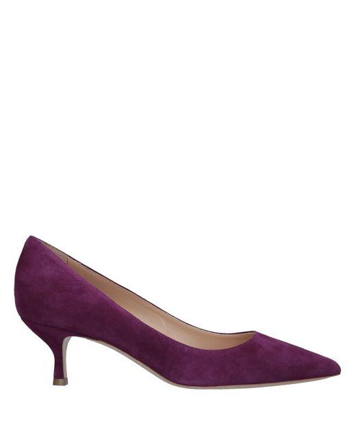 Deimille - Purple Pump - Lyst