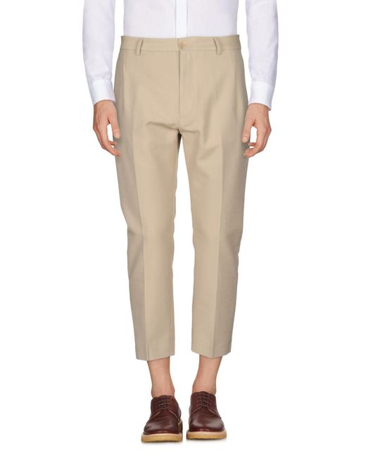 Pence - Natural Casual Pants for Men - Lyst