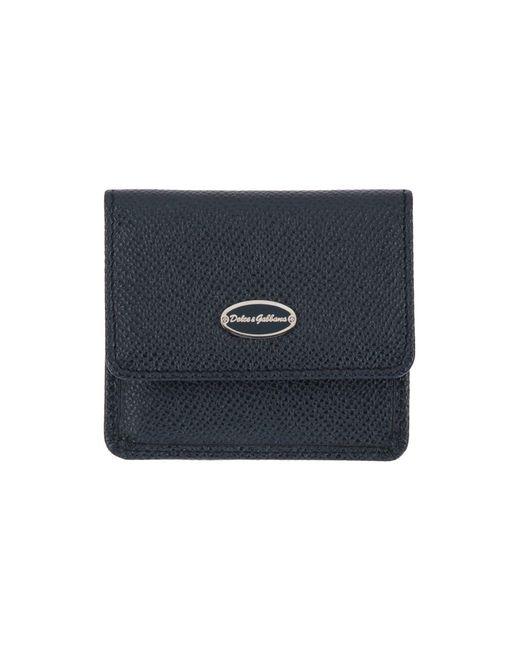 Dolce & Gabbana - Blue Coin Purses for Men - Lyst