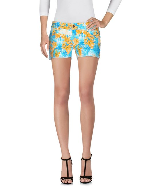 Met | Blue Shorts | Lyst