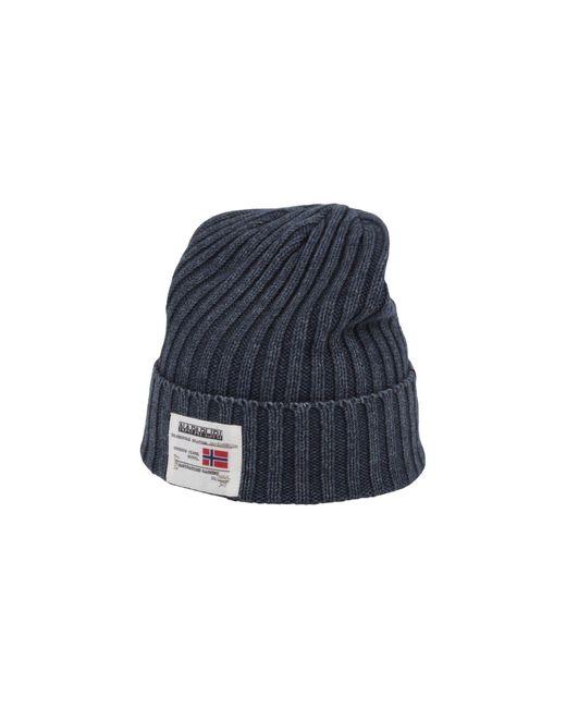 Napapijri - Blue Hat for Men - Lyst
