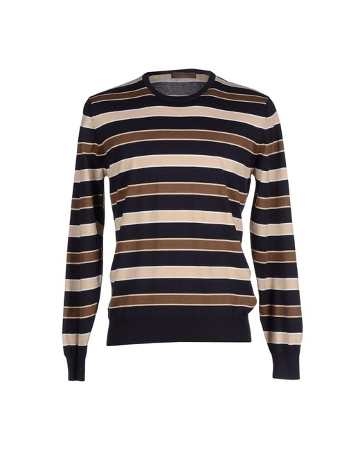 Cruciani - Blue Sweater for Men - Lyst