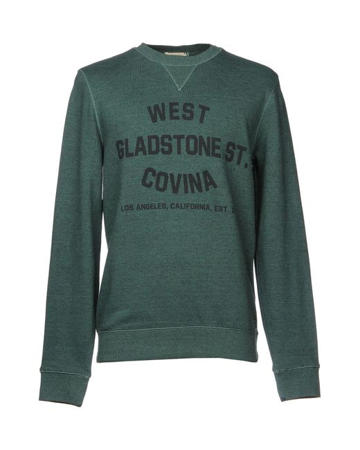 SELECTED - Green Sweatshirts for Men - Lyst