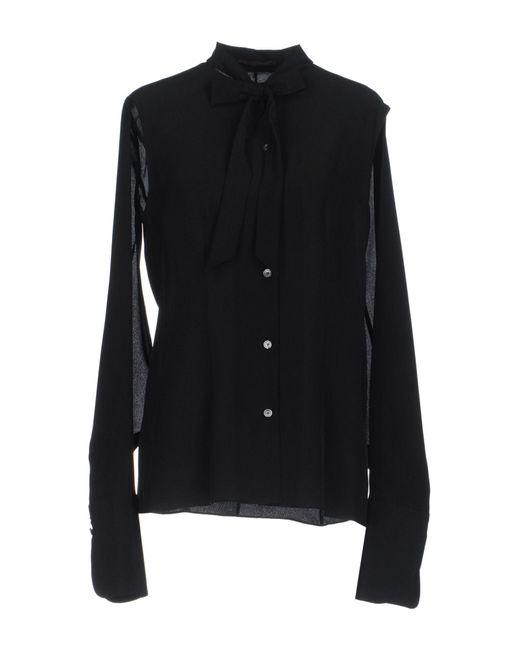 Agnona | Black Shirt | Lyst