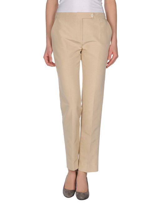 Valentino Roma - Natural Casual Trouser - Lyst