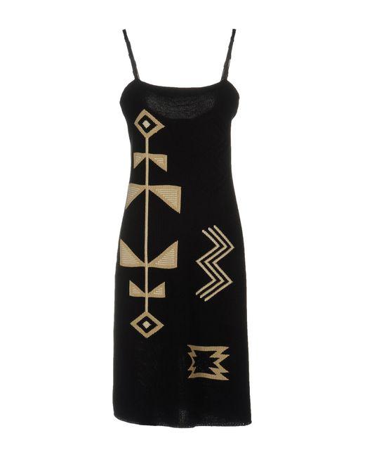 Ralph Lauren Black Label - Black Knee-length Dresses - Lyst