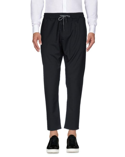 Low Brand - Blue Casual Trouser for Men - Lyst