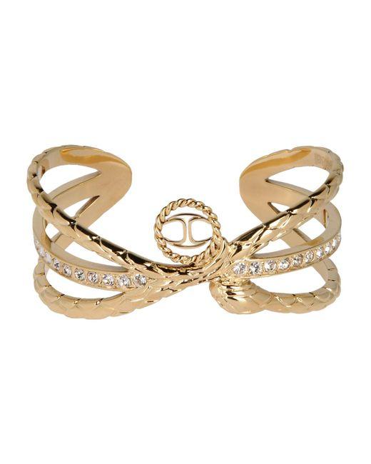 Just Cavalli - Metallic Bracelet - Lyst