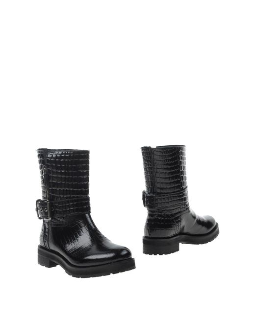 Twin Set - Black Ankle Boots for Men - Lyst