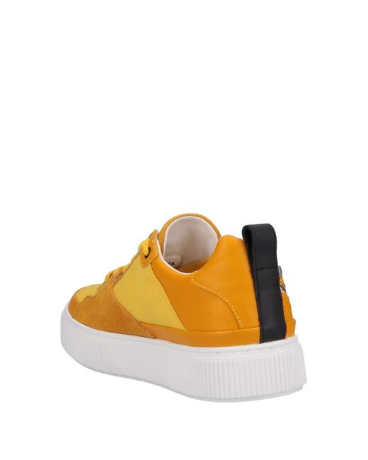 205f327a01b7f9 Lyst - DIESEL Low-tops   Sneakers in Yellow for Men - Save 12%