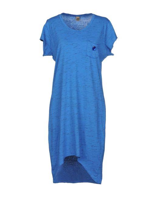 Jijil - Blue Knee-length Dress - Lyst