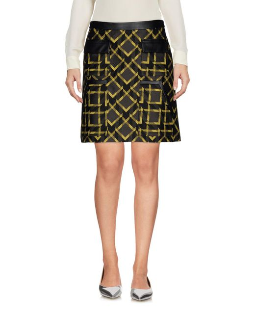 Space Style Concept - Black Mini Skirt - Lyst